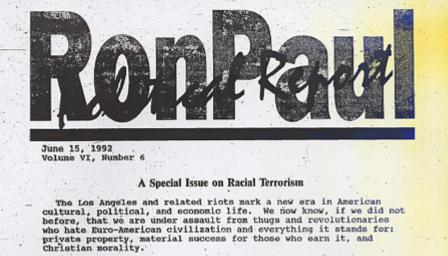 Ron Paul newsletter